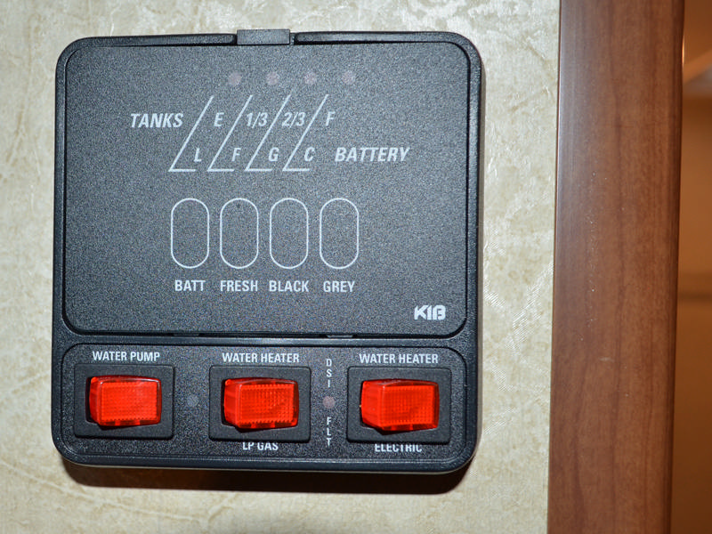 Battery Monitor Panel : Lance truck camper it s no wonder that the is