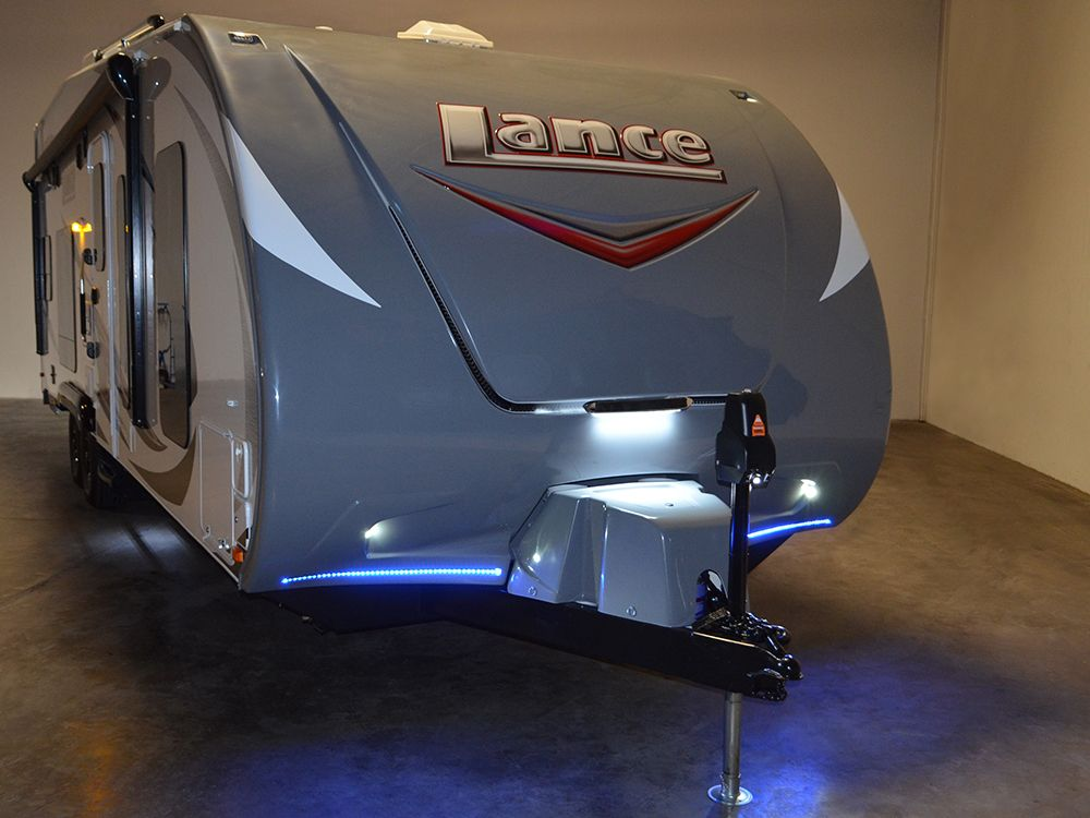 Lance 2612 Toy Hauler Swallows Rzr S Whole With Room For