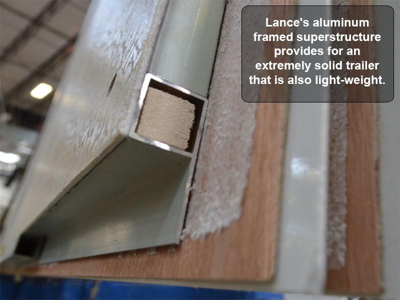 Lance 1575 Travel Trailer Super Slide Amp 2655 Dry Weight