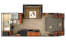 Lance 2185 Travel Trailer Floorplan
