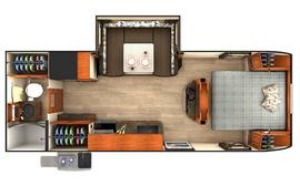 Lance 2295 Travel Trailer Floorplan
