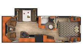 Lance 2375 Travel Trailer Floorplan
