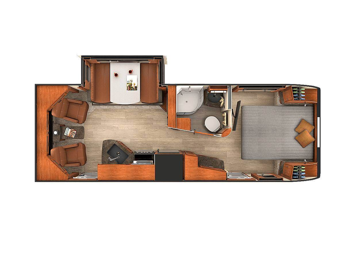 Travel Trailers | Lance Ultra Light Weight Travel Trailers