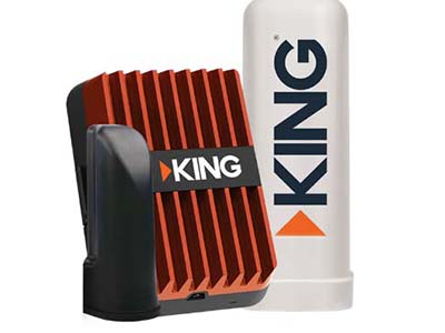 Antenna LTE/Wifi Extender - King Extend Pro LTE/Cell Signal Booster