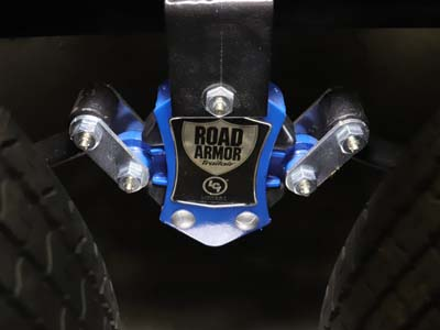 Leaf Spring, Road Armor Suspension & Available Shock Absorbers