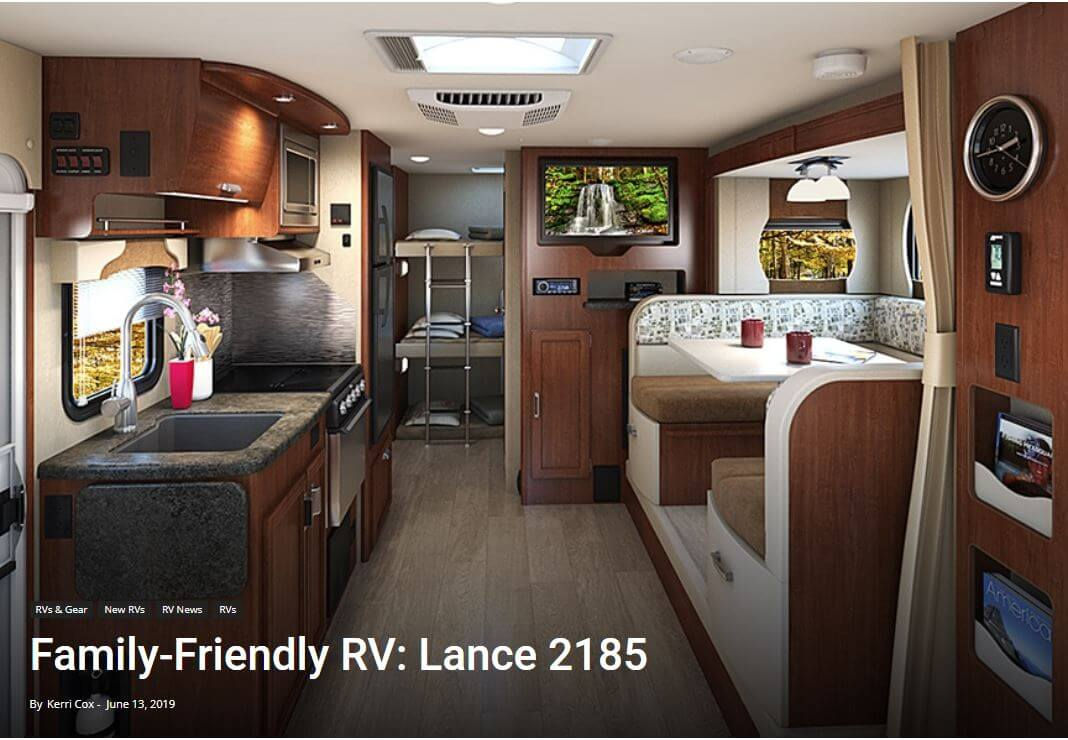 Trailer Life.com Family-Friendly RV: Lance 2185