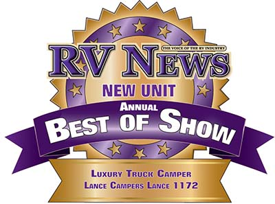 RV News Best of Show - Lance 1172
