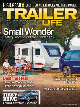 Trailer Life: 1475 Product Review Cover Story Reprint