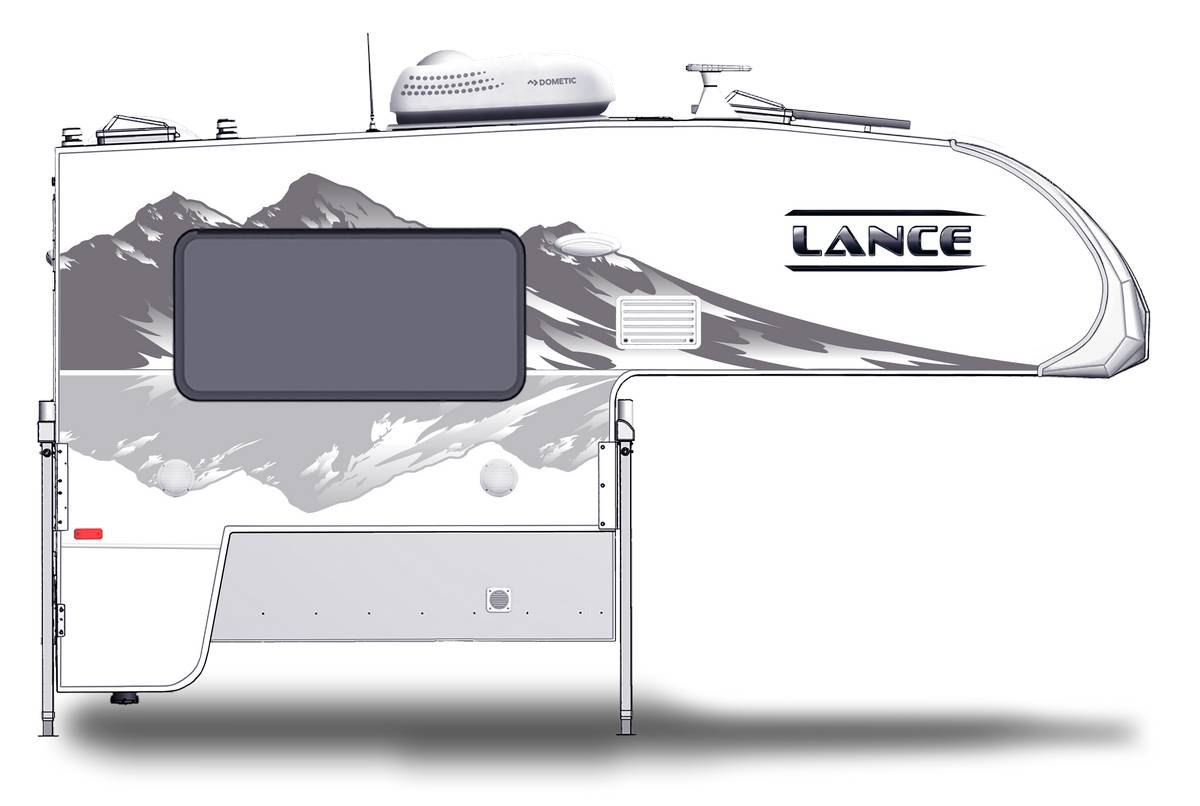 Lance 650 Shown With Optional Mountain Scene Graphics.
