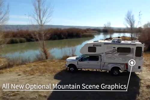 Now available all-new Mountain Scene graphics option