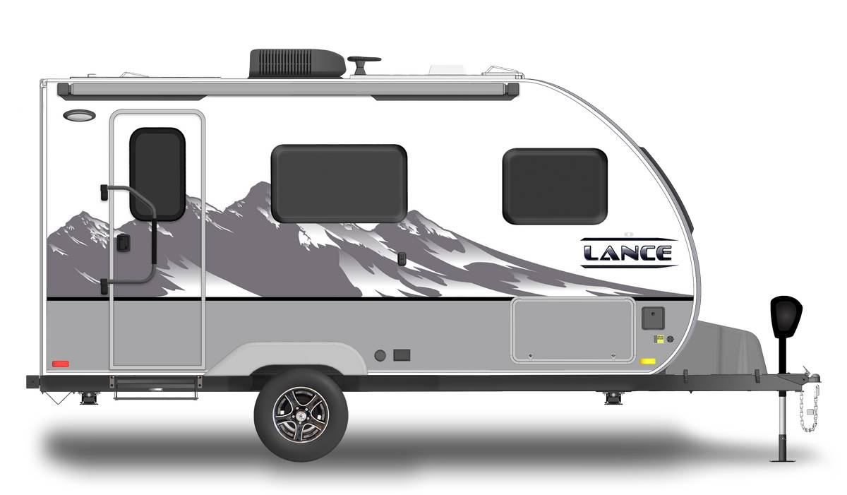 Lance 1475 Shown With Optional Mountain Scene Graphics.